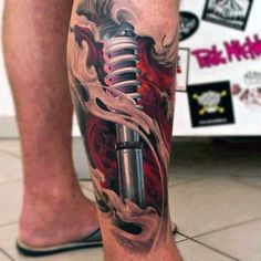 Leg tattoos are generally a choice of women yet many men like to have their legs inked. Check out the best leg tattoo design ideas for men now!