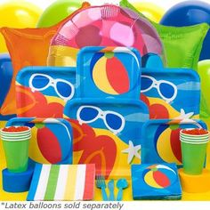 kids pool party ideas - Google #Summer Party