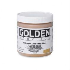 Golden Heavy Body Kunstnerfarve 119 ml. Coconut Oil, Jar, Brushes, Blush, Paint Brushes, Jars, Glass, Makeup Brush