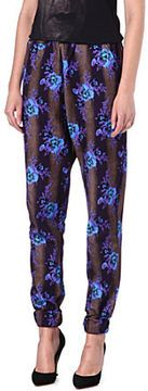 Christopher Kane Floral jogging trousers