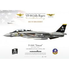 """F-14A """"Tomcat"""" VF-84 """"Jolly Rogers"""" TC-242"""