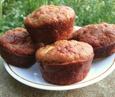 Dandelion Haven: The Perfect Paleo Muffin~I love the tip to pulse almonds and coconut in your blender, instead of buying specialty almond flour and coconut flour. Definitely want to try these!! :)