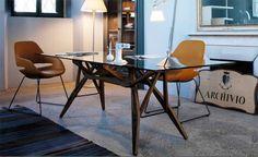 Reale table | design Carlo Mollino (1946) | Zanotta