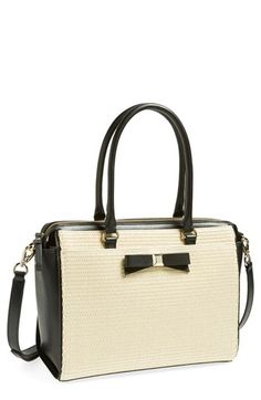kate spade new york 'holly street straw - jeanne' tote available at #Nordstrom