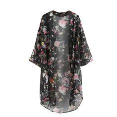 2016 Summer Sunproof Cardigan Fashion Women Chiffon Bikini cover Up Kimono Cardigan Coat Bathing-in Blouses & Shirts from Women's Clothing & Accessories on Aliexpress.com | Alibaba Group