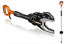 WG308 WORX JawSaw Electric Chainsaw + Extension Pole Accessory Combo #Worx