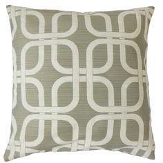 Bertille Geometric Throw Pillow