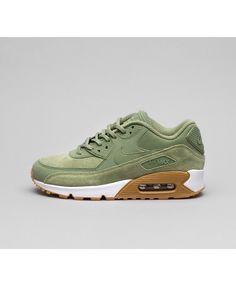 reputable site c6c18 9f0d2 Nike Air Max 90 SE Chaussures Vert Blanc Chaussures Vertes, Blanc, Air Max  90