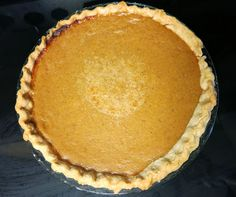 Pumpkin Pie {Egg-free} with notes on making gluten-free