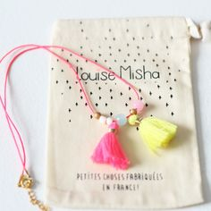 GIrls necklace from Louise Misha