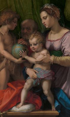 The Holy Family with the Young Saint John the Baptist. Andrea del Sarto (Andrea d'Agnolo) (Italian, 1486–1530). The Holy Family with the Young Saint John the Baptist (detail), ca. 1528. Oil on wood; 53 1/2 x 39 5/8 in. (135.9 x 100.6 cm). The Metropolitan Museum of Art, New York, New York City.