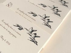 Duck Wedding Invitations Hunting Wedding by alittlemorerosie, $3.50
