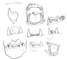 deerstroyer:i was thinking about orc teeth,