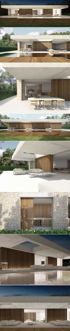 House in La Cañada Spain by Ramon Esteve