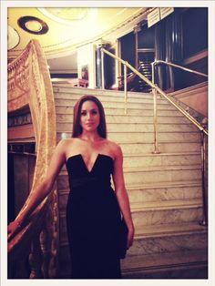 Amazing black dress - Meghan Markle <3