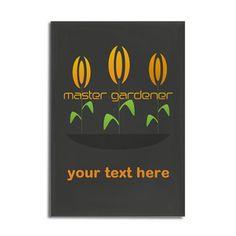Custom Business Master Gardener Logo Magnet