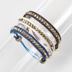 Third time's the charm: Triple Threat Bracelet Set #moreismore
