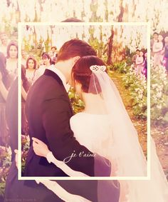 It kind of makes me want to get married again..............well, to Edward anyway.