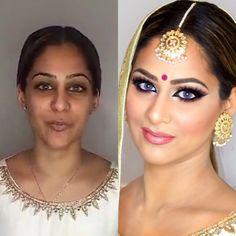 Pakistani/Arabic/Indian/Bollywood inspired Glitter Smokey Eye - Lets Learn Makeup