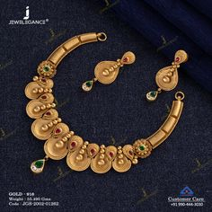 Jewelry Design Earrings, Gold Jewellery Design, Necklace Designs, Antique Jewellery Designs, Gold Jewelry Simple, Bridal Jewelry, Necklace Set, Jewelry Stores, Jewelry Sets