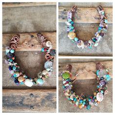 Beaded Necklace, Charmed, Bracelets, Jewelry, Fashion, Beaded Collar, Moda, Jewlery, Pearl Necklace
