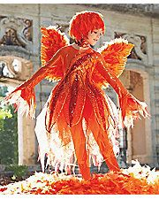 fiery phoenix girls costume - Only at Chasing Fireflies - Our mythical phoenix rises and shines in spectacular fashion. Red and orange meld into this fiery girls costume of lamé, tulle and sequins. Costumes For Sale, Diy Costumes, Halloween Costumes, Parrot Costume, Costume Dress, Circus Costume, Costume Makeup, Halloween 2017, Holidays Halloween
