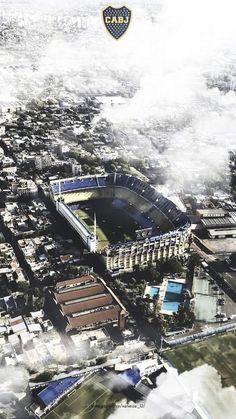 La Bombonera 💙💛 Argentina Football, Leonel Messi, Soccer Stadium, Messi 10, Juventus Fc, World Cup, Sports, Travel, Outdoor
