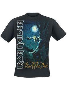 Camiseta t-shirt Fear of the dark por Iron Maiden $19.99 (euros) en EMP... Europe´s Rock Mailorder No.1 : La más grande venta por correo de Merchandising Oficial Musica Metal / Hard rock / Heavy / Ropa Gótica / Militar/ Lolita / Punk Style .. y mucho más