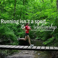 Running Matters Running isn't a sport. It's a relationship Matters Running isn't a sport. It's a relationship. I Love To Run, Why I Run, Run Like A Girl, Just Run, Sport Motivation, Fitness Motivation, Marathon Motivation, Exercise Motivation, Fitness Quotes