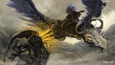 Dark Souls 3 - Nameless King by OniRuu