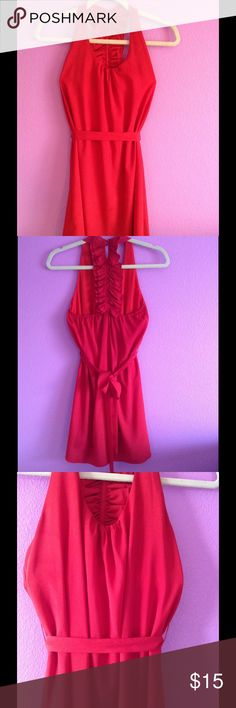 Hot red dress Go out for a stroll, a drink, or a long walk. This is the dress for you! 100%polyester Naked Zebra Dresses Mini