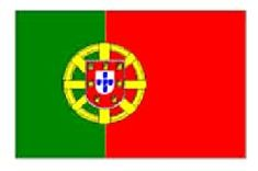 Portugal/Portuguese Flag 5ft x 3ft (100% Polyester) With Eyelets For Hanging