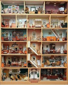 The Miniature World — The original dollhouse. More on Miniature World