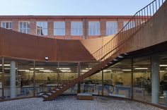 Arkitekturskolan, Stockholm. Färdig 2015. Fotograf: Åke E:son Lindman