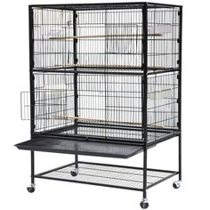 World Pride 52'' Wrought Iron Select Bird Cage Parrot Macaw Cockatoo Birdcage Stands * Quickly view this special  product, click the image