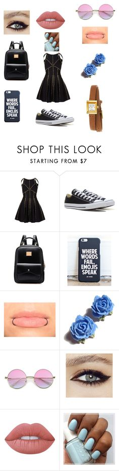 """""""🐢"""" by jaydenloveyourstyle04 ❤ liked on Polyvore featuring Converse, Tarina Tarantino, Lime Crime and Gucci"""