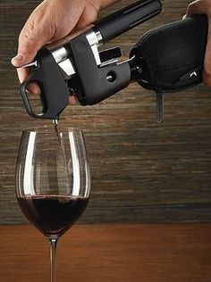 The perfect gift for the wine enthusiast in your life, the Coravin 1000 Wine Access System allows access to a bottle of wine without removing the cork or disrupting the natural aging process and makes any night a special occasion.