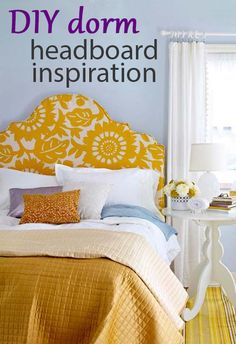 Hip Upholstered Headboard With a bit of sewing skill, this high-end designer lookalike headboard can be created in a weekend. Check out our step-by-step instructions for creating this beautiful headboard. Upholstered Headboard How-To Diy Headboards, Headboard Ideas, Upholstered Headboards, Headboard Makeover, Upholstered Furniture, Homemade Headboards, Headboard Shapes, Iron Headboard, Vintage Headboards