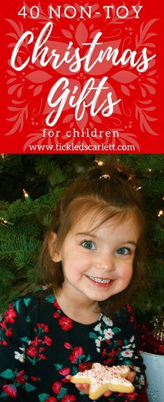 40 Non-Toy Christmas Gift Ideas for Children- Tickled Scarlett