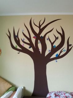 Unser Stoffbaum wächst