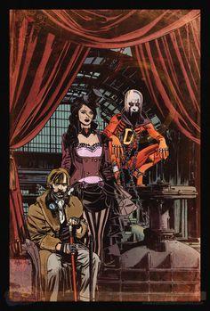 DC Comics New 52 Steampunk variants | Justice League Dark #28
