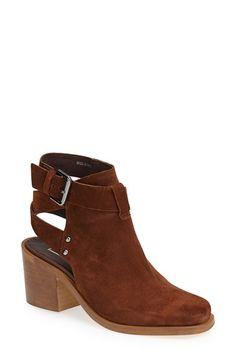Topshop 'Always' Ankle Boot (Women) Brown Size 6.5US / 37EU on Vein - getVein.com