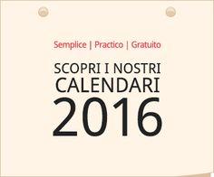 iCalendario: Semplice Pratico Gratuito, Scopri i nostri calendari