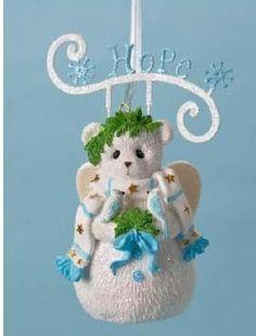 Hope Bear Ornament