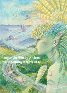 Air by Wendy Andrew Spirit of Air - Sylph - breathing life's breath. Feathered wings giving flight through the clarity of dawn. You lift spirits and waft away the fog of tired minds.