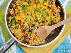Chorizo Sweet Potato Skillet - Budget Bytes