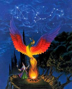 Phoenix Rising: Mythical Creature, Phoenix Bird Mythology, Myth Beast on mythicalrealm.com