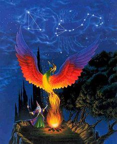 Phoenix Rising: Mythical Creature, Phoenix Bird Mythology, Myth Beast on mythicalrealm.com