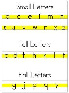 Colors and Kindergarten: Handwriting Freebie!