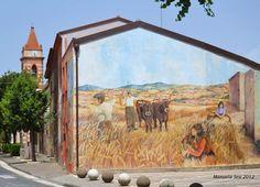 Murales in Tinnura